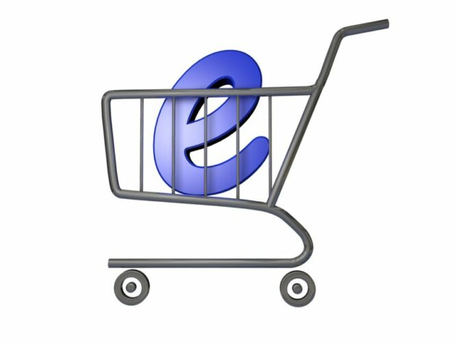 ecommerce store and online shopping cart on Volusion