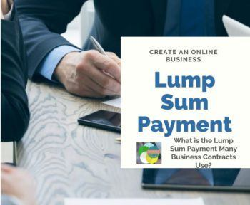 Lump Sum Payment For Construction