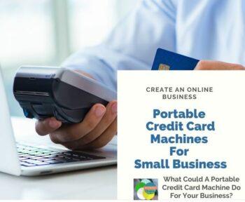 Portable Credit Card Machine