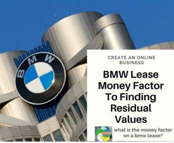 BMW Lease Money Factor