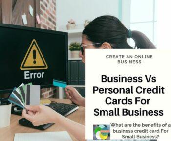Business Credit Card Vs Personal Credit Card
